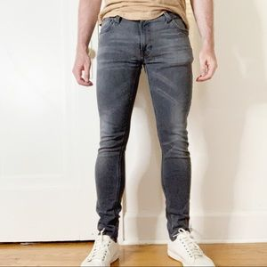 Nudie Jeans Co Skinny Lin Rough Stone 30x30